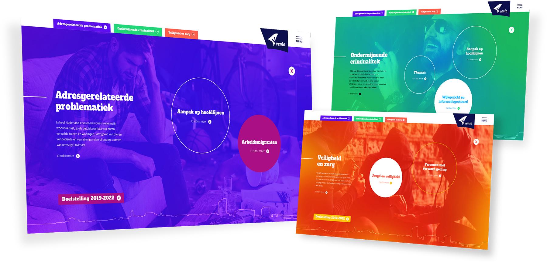 Gemeente Venlo veiligheid Infographic-spiegel crossmedia communicatie