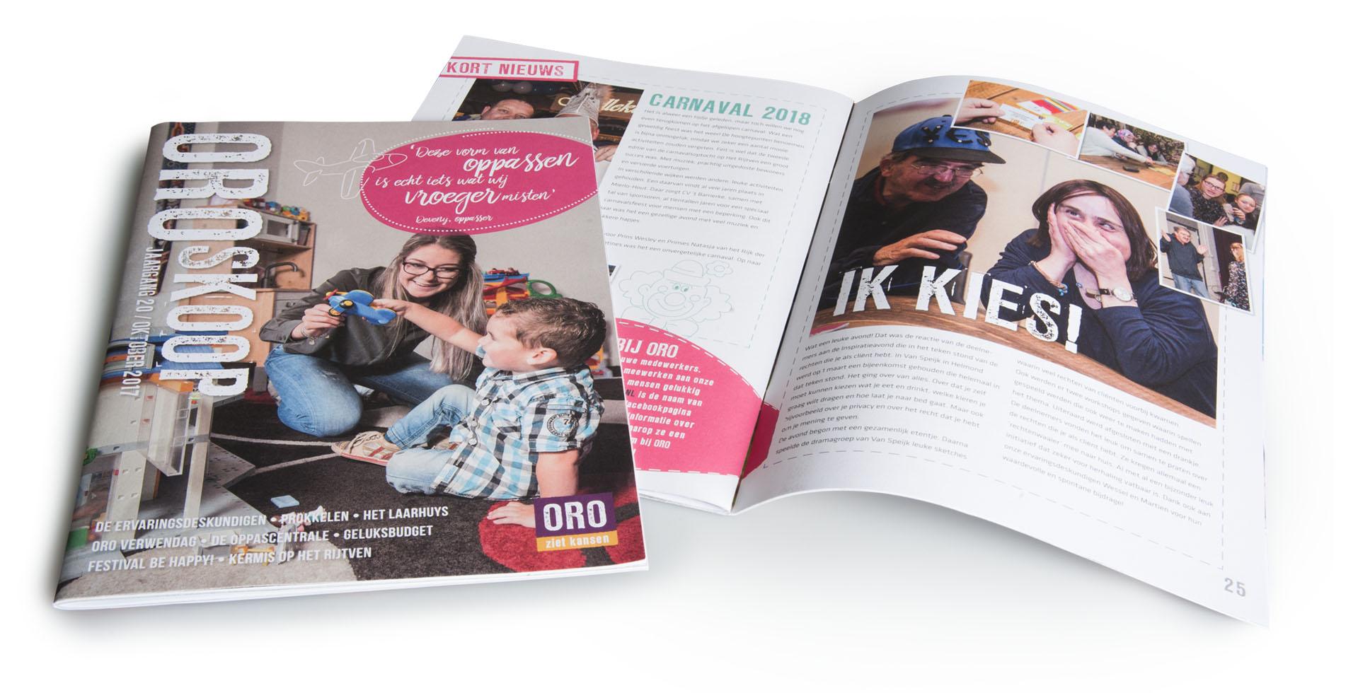 relatiemagazine laten maken spiegel crossmedia communicatie