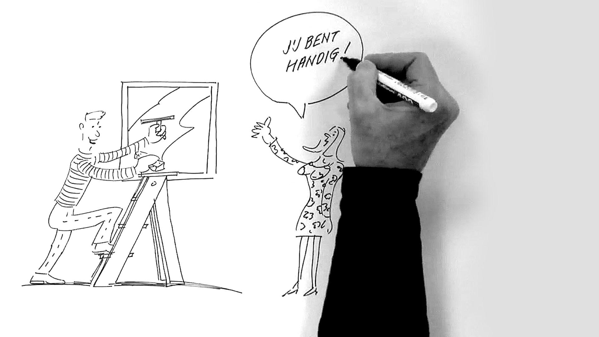 ORO whiteboard animatie supportgericht werken header