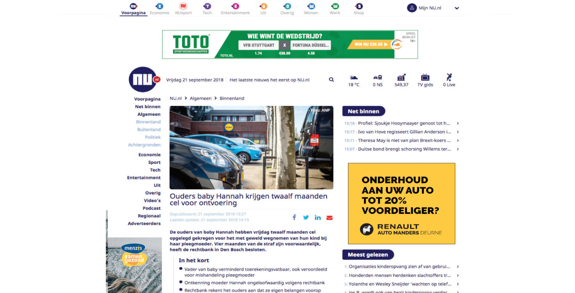 online-advertentie-NU.nl-Spiegel-crossmedia-communicatie
