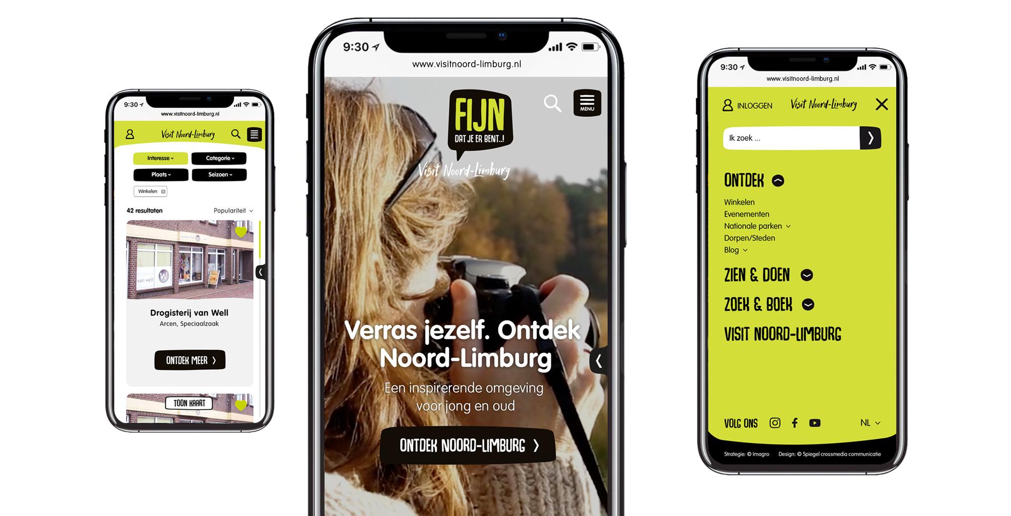 Visit Noord-Limburg - Spiegel crossmedia communicatie