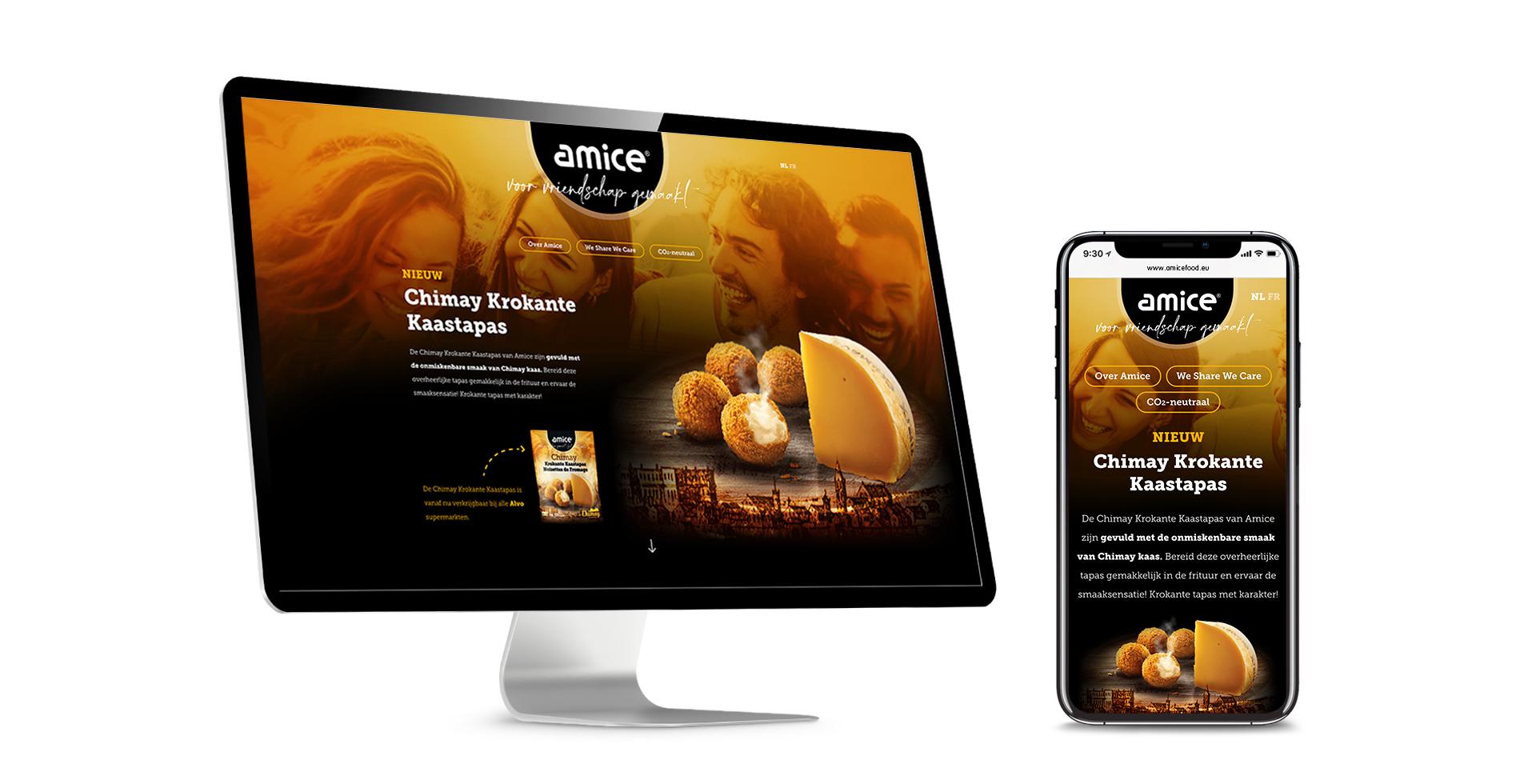 Amice - Spiegel crossmedia communicatie
